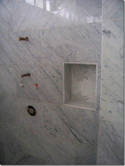 shower box detail