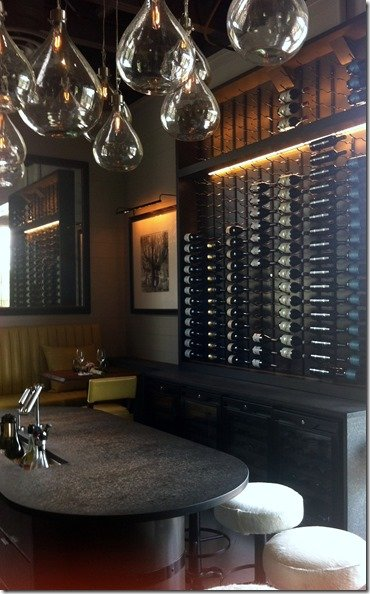 laV wine bar seating
