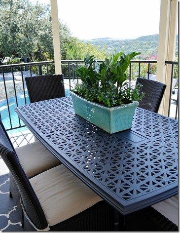 back patio planter