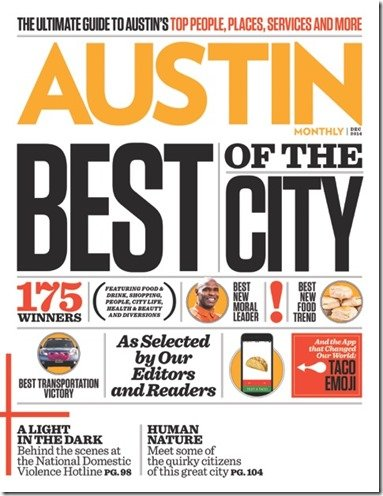 Best of the City Austin Montly, Best Interior Designer