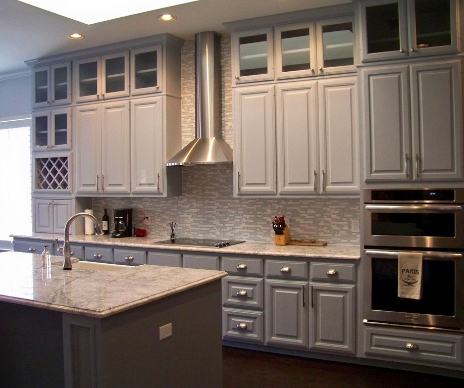 Painted Cabinets Remodel