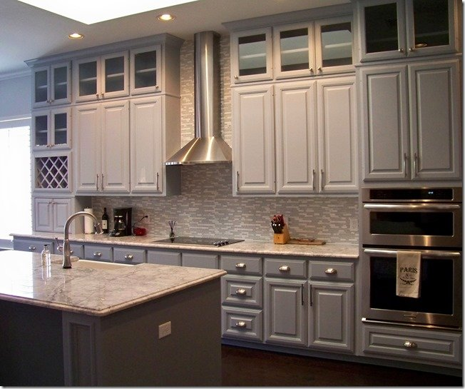 painted cabinets, remodel