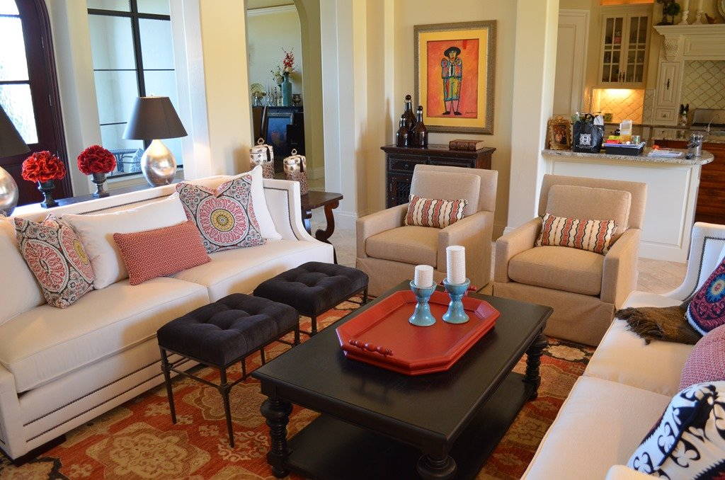Before After Santa Barbara Style Family Room Heather Scott Home