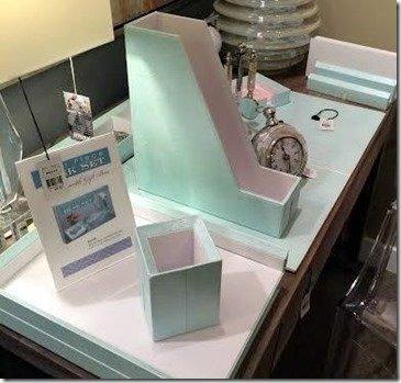 shagreen desk accessories