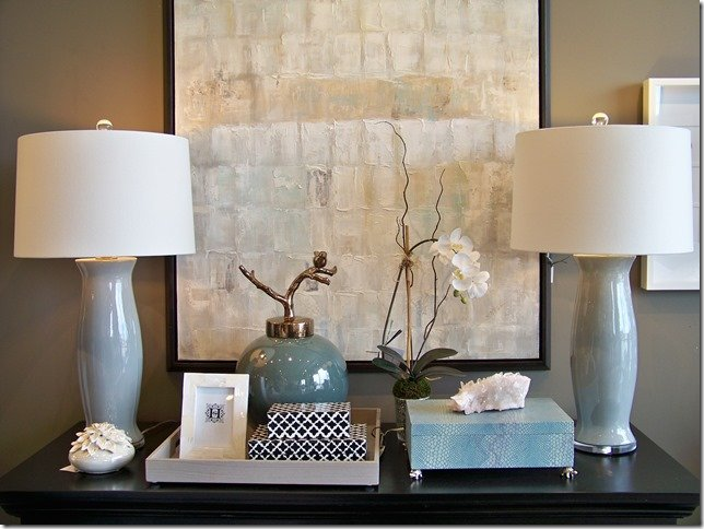 custom ceramic gray lamps