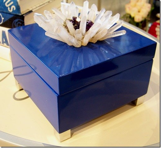 cobalt blue jewlery box