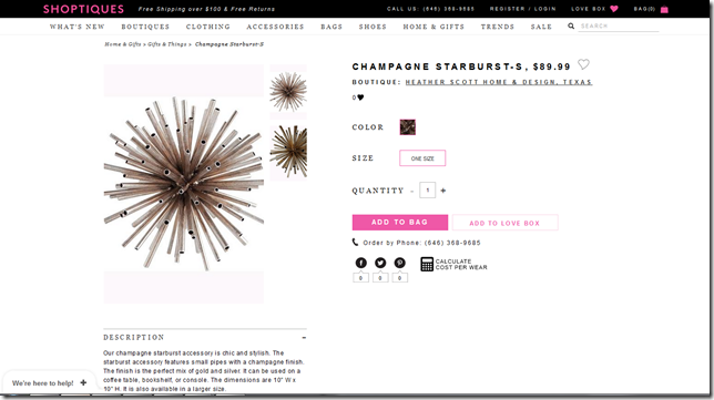 Products on Shoptiques