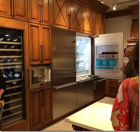 ideal kitchen, fridge