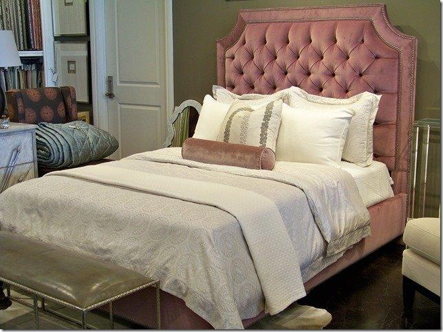 Velvet Tufted Bed