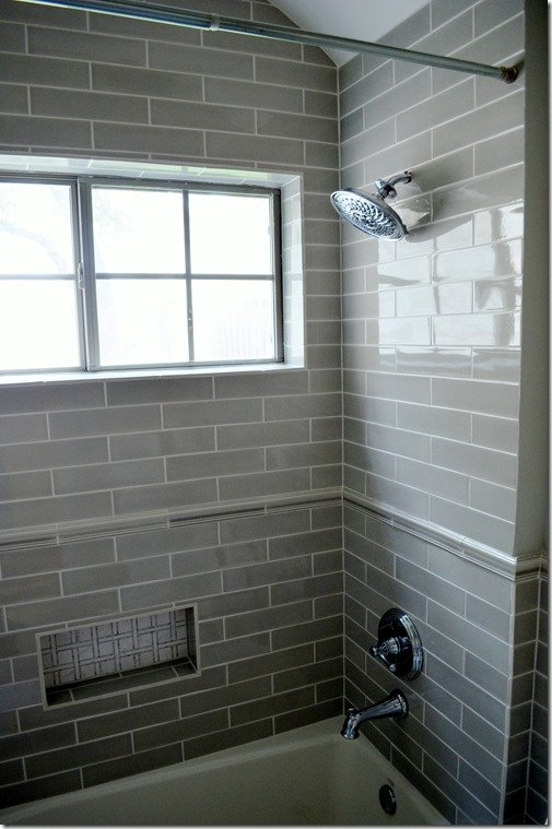 new shower tile