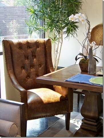 Top Grain Leather chairs