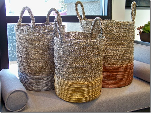 Metallic Storage Baskets