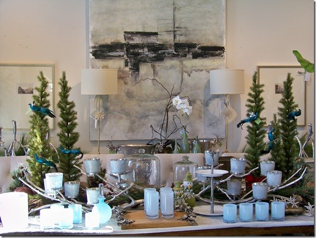 Christmas Dining Table Ceterpieces