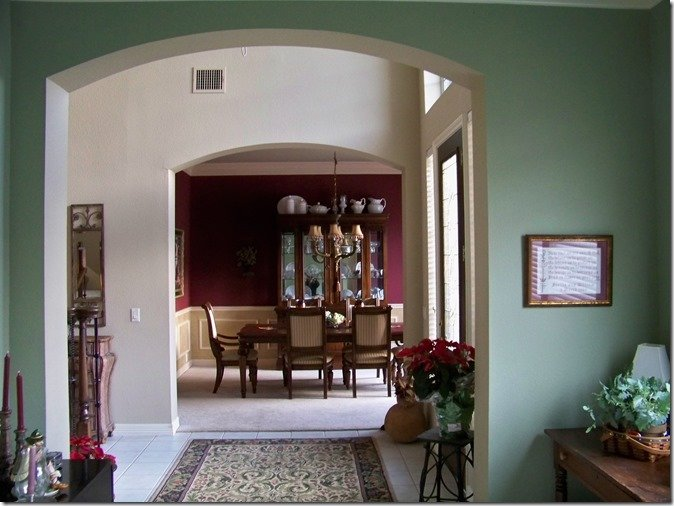dining room across hall