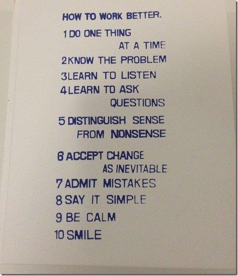Guggenheim how to work better