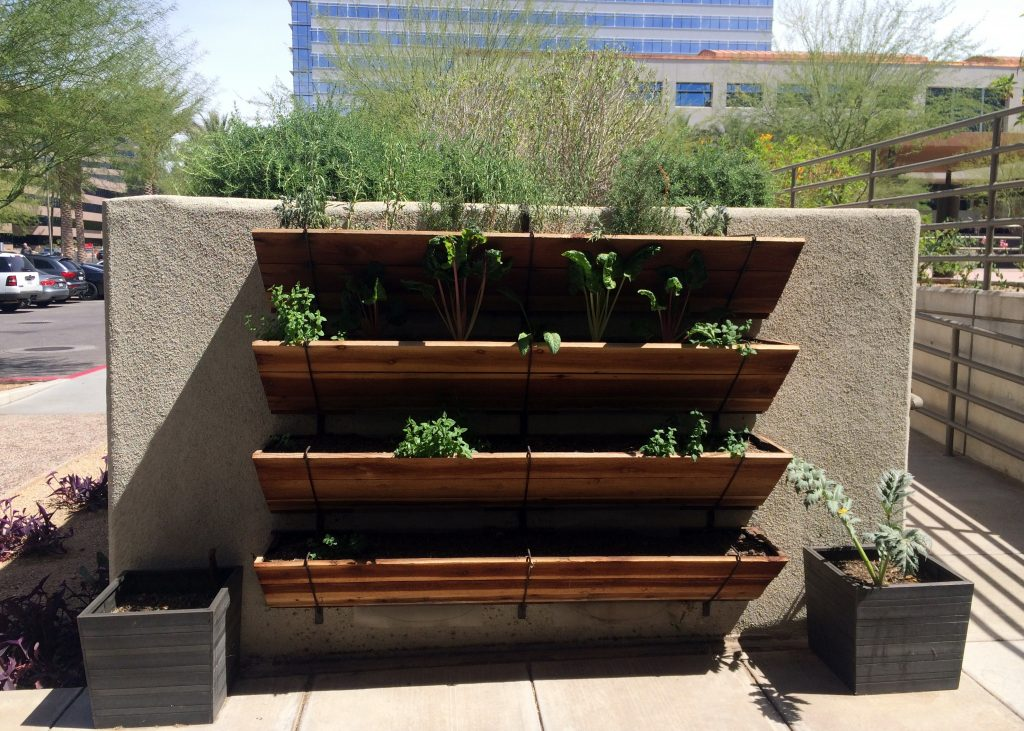 The Gladly outdoor garden wall