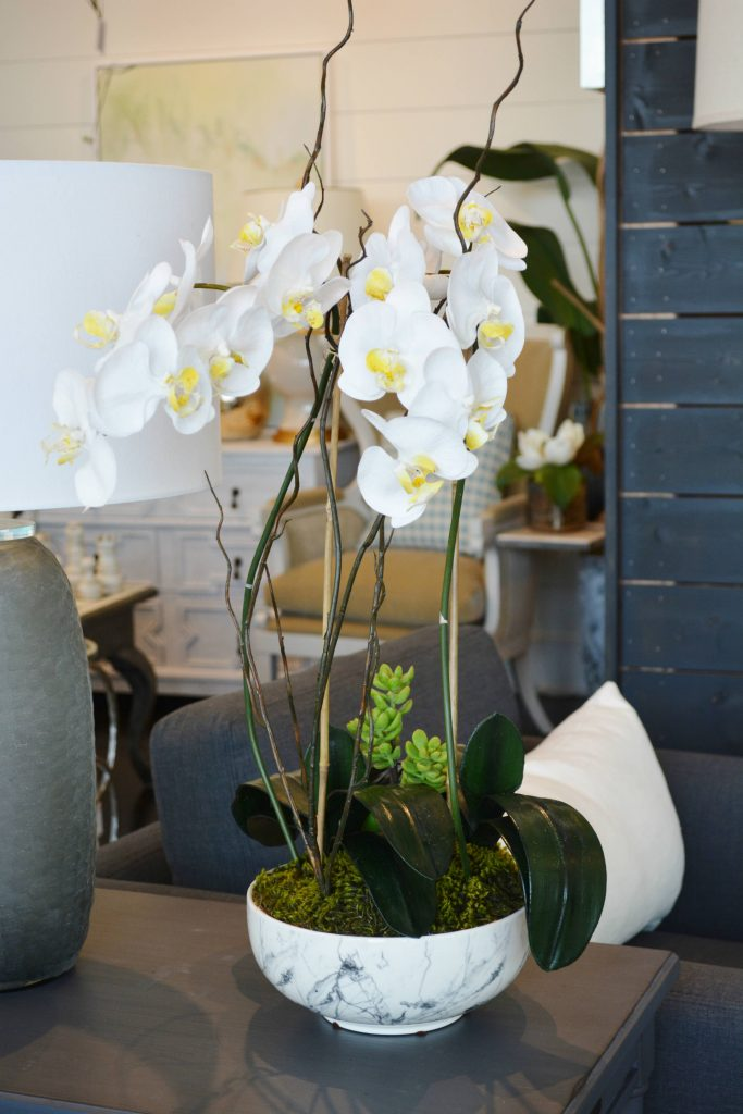 Whats New Wednesday Orchids In Marble Vases Heather Scott Home