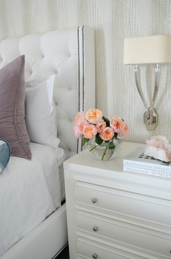 master bedroom side table