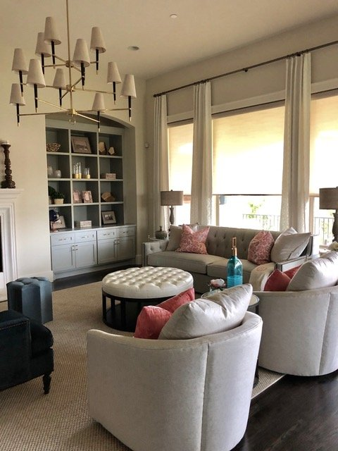 Heather Scott Home Design: Before & After: French Chic Family Room